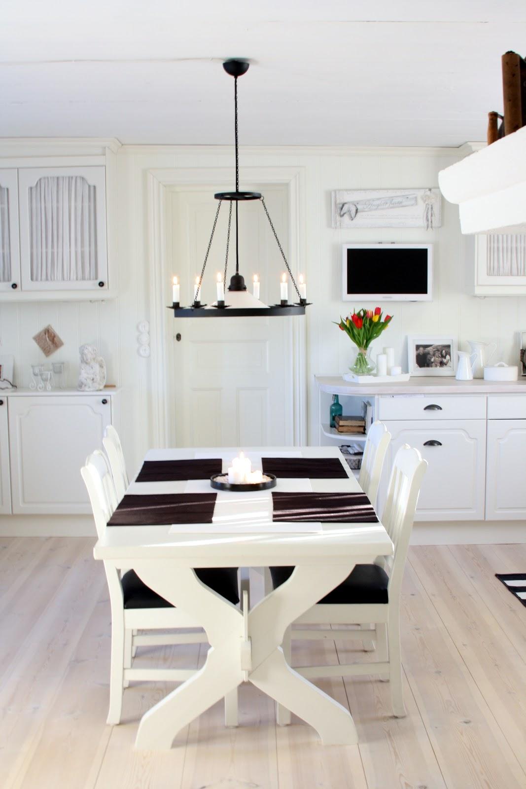 Kok Med Matplats : lantligt kok med vedspis  , Kok matplats, fritidshus, vedspis