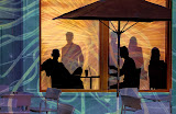 """Café Shadows"" by Witta Priester - 2 place A general"