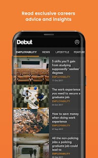 Debut - where careers find you- screenshot thumbnail