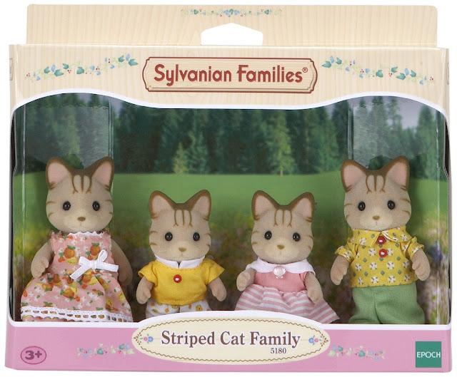 Gia đình mèo sọc Striped Cat Family 5180 Epoch