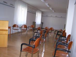 Photo: Muszély Ágoston kiállító terem (70 m2; férőhely kb. 60 fő részére)