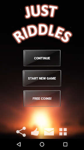 Riddles. Just riddles. Screenshot
