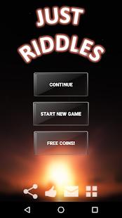 Riddles. Just riddles. 1