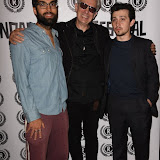 OIC - ENTSIMAGES.COM - James Floyd, Eliot Grove  and Craig Roberts at the Opening of Raindance Film Festival  in London on the 24th August 2015. Photo Mobis Photos/OIC 0203 174 1069