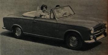 Peugeot 1960 403 cabriolet