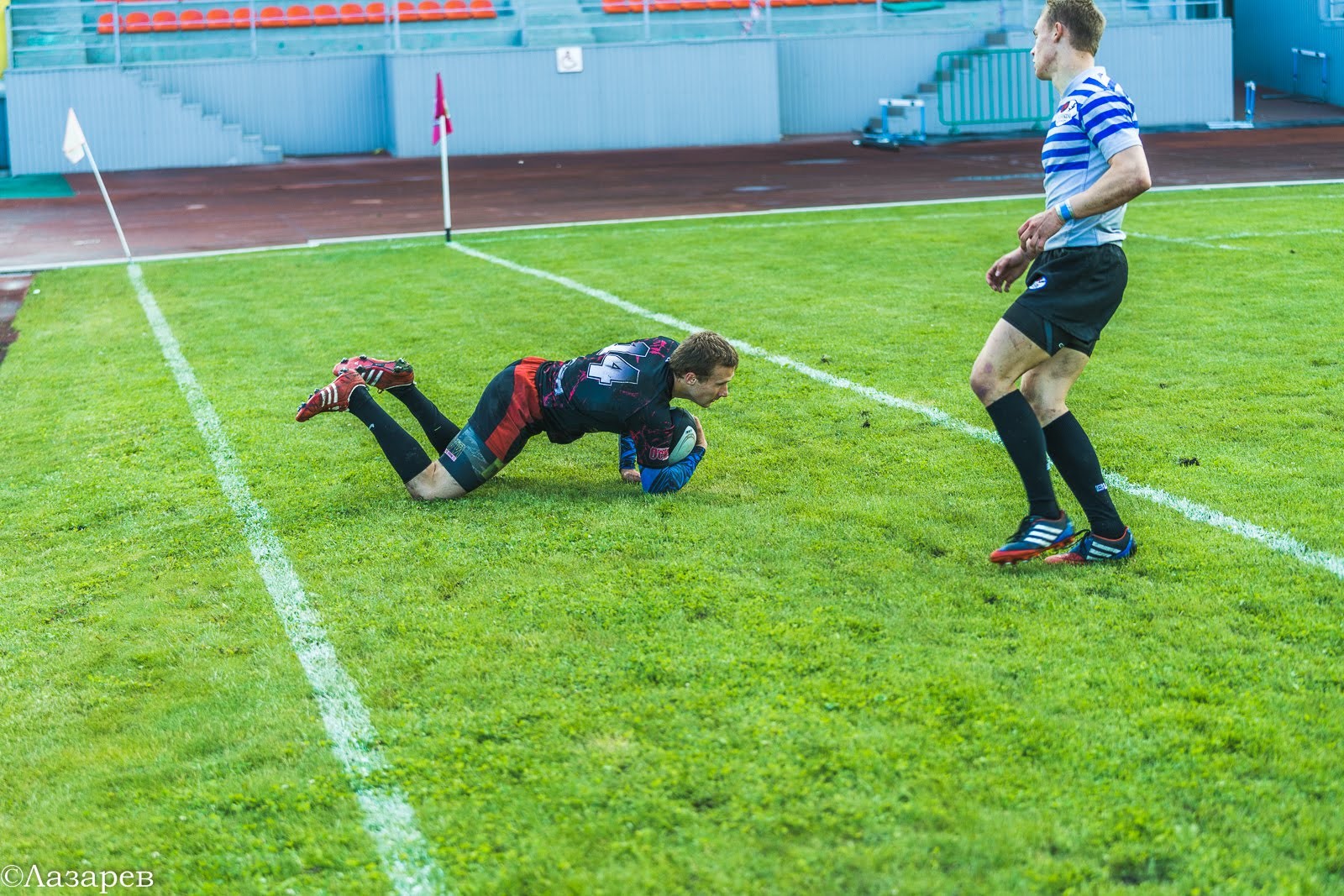 Финала Кубка России по регби-7 в Пензе 17.06.2017 (день первый)