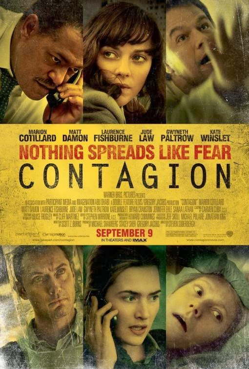 Poster Of Contagion (2011) Full Movie Hindi Dubbed Free Download Watch Online At Alldownloads4u.Com