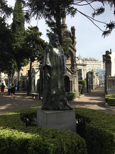 Buenos Aires. statue in Ricoleta Cemetary
