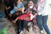 Relawan TRC Dinsos Tangsel, Datangi Keluarga Haibibah Penyandang Disabilitas