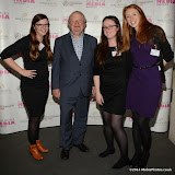 WWW.ENTSIMAGES.COM -    Jessica Entwistle, John Sergeant, Katie McQuade and Rachel Hails  at     Older People in the Media Awards at The British Library London November 13th 2014Annual awards organised by charity Independent Age, in celebration of coverage which has positively portrayed older people or sensitively highlighted the issues they face. Hosted by Independent Age and sponsored by Barchester Healthcare.                                                 Photo Mobis Photos/OIC 0203 174 1069