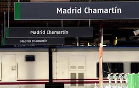 Remodelación de vías y andenes de la estación Madrid Chamartín