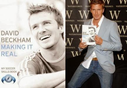 David Beckham implementará una innovadora forma de firmar libros el próximo 30 de Octubre