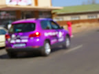 Radio Jackaranda se voertuig