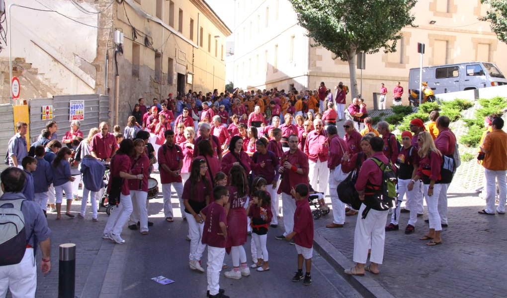 XII Trobada de Colles de lEix, Lleida 19-09-10 - 20100919_114_Colles_Eix_Actuacio.JPG