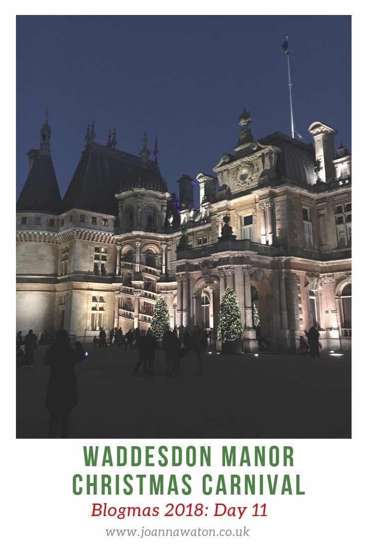 Waddesdon Manor Christmas Carnival