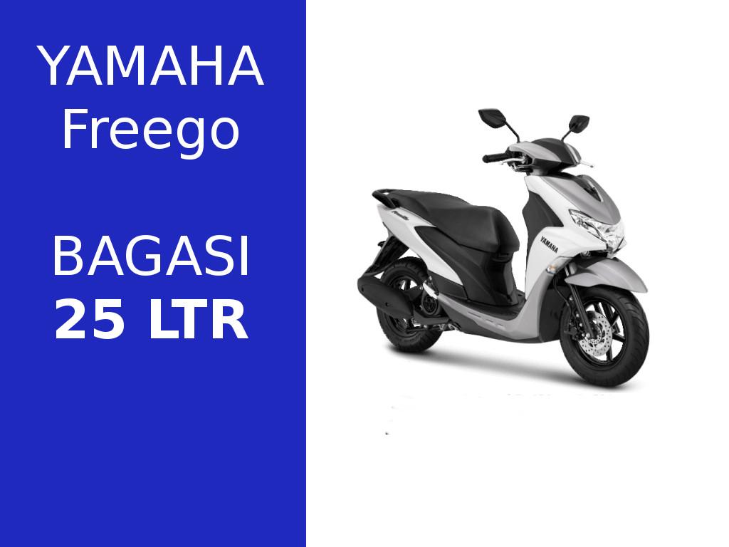 Yamaha Freego Skuter Metic Bagasi Terbesar di Kelasnya
