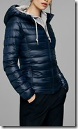 Uniqlo ultra light down parka with hood