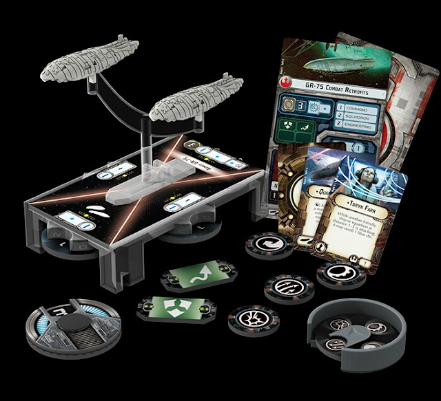 Transportes Rebeldes Star Wars Armada Wave 3