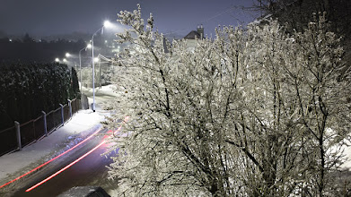 Photo: Icy night tonight...  #ice #winter #nightphotography #winterphotography  #fkzimawplenerze
