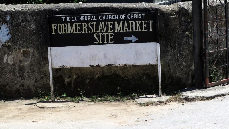 Slave Market Sign