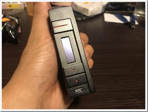 IMG 4492 thumb - 【カクカク】「VOOPOO Alfa One 222W」(ヴープー・アルファワン)レビュー!90年代を思わせる独特のSF感あるハイパワーMOD、222Wを使いこなし、究極の爆煙マンを目指せ!【テクニカル/SF/デザイナーズ】