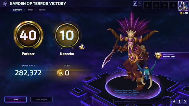 Heroes of the Storm - Level 10 Nazeebo