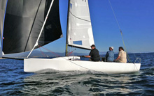 J/70 sailing Santa Barbara YC Holiday Regatta