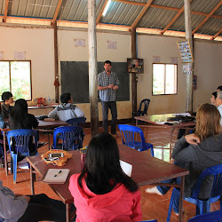 Teacher Training at Koung Jor Refugee Camp - October 2015