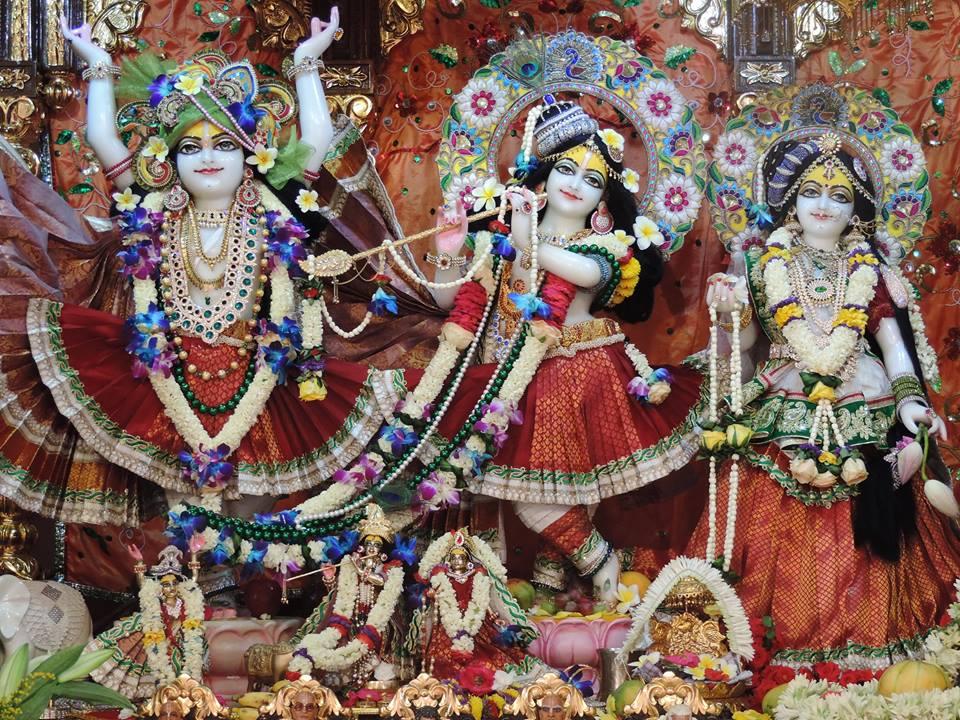 ISKCON Bangalore Deity Darshan 29 May 2016 (1)