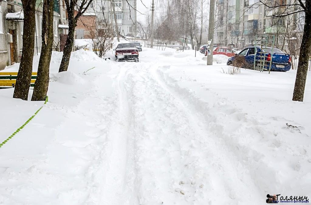 Придомовая территория улицы Тульская