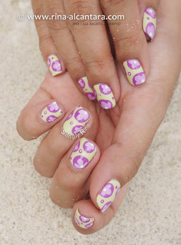 It's My Birthday Nail Art