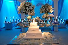 Fotos de decoração de casamento de Casamento Carolina e Filipe no Espaço Horto da decoradora e cerimonialista de casamento Liliane Cariello que atua no Rio de Janeiro e Niterói, RJ.