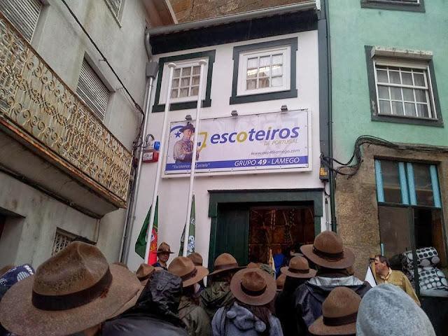 Escoteiros de Lamego ganham nova casa no Bairro do Castelo