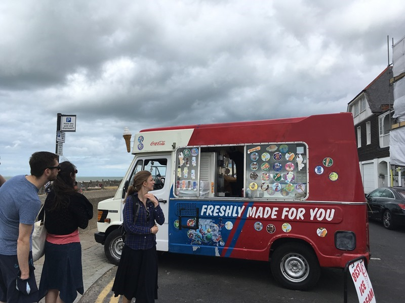 Icecream Van Whitstable Harbour