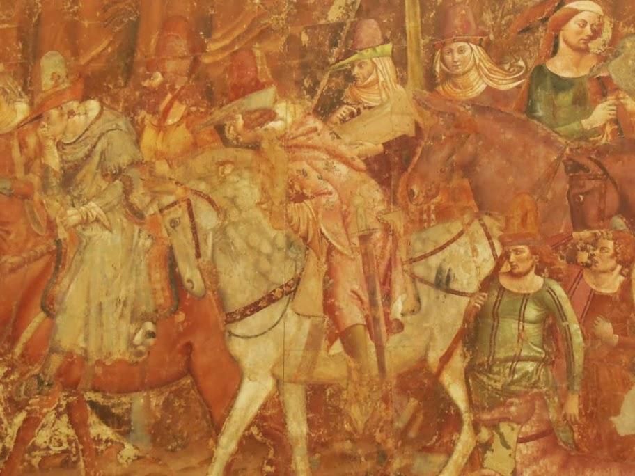 Frescos decorativos del camposanto de Pisa