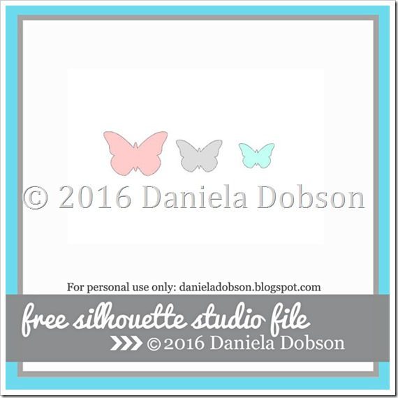 Layered butterflies by Daniela Dobson