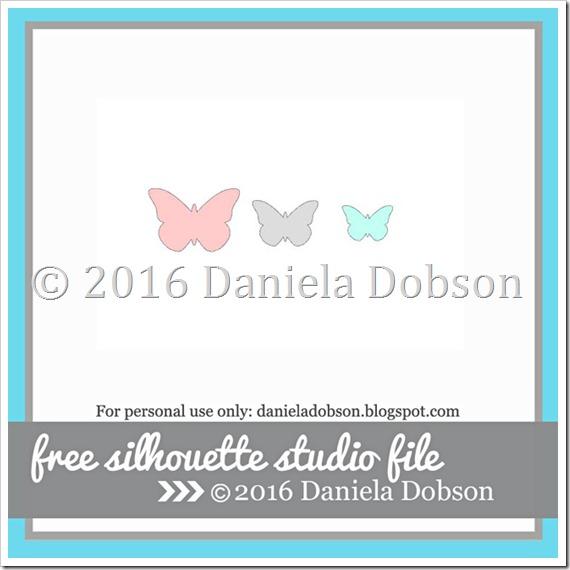 Layered butterflies by Daniela Dobson