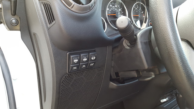 ARB Locker Switches in 2 Dr Manual JK - Jeep Wrangler Forum