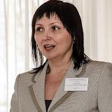 Директор ЦТРиГО Н.А. Сорокина выступает с докладом