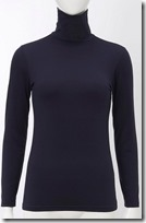 Uniqlo Heattech Turtleneck Top