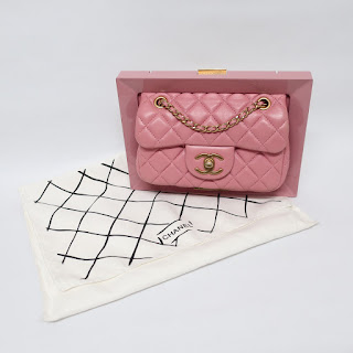 Chanel Limited Edition VIP Pink Frame Bag