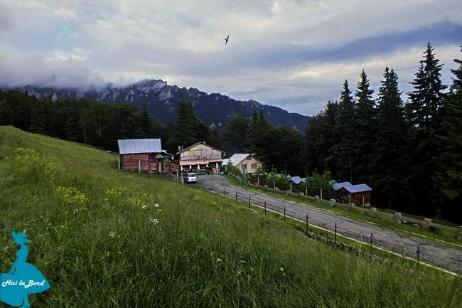 peisaj muntele rosu cabana silva