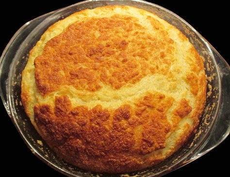 Soufflé de pomme de terre au fromage