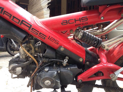 Ini Dia Motor Turunan Jerman-China Minerva Sachs MadAss 125