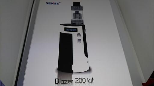 DSC 2227 thumb%25255B2%25255D - 【MOD+アトマ】「Sense Blazer 200キット」レビュー。最大200W対応BOX MODとセラミック搭載クリアロのスターターキット!【電子タバコ/爆煙】