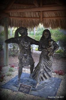 Sam Jones statue