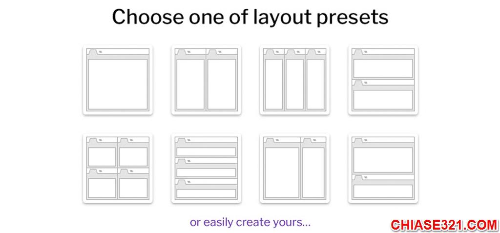 chia nhiều màn hình trên trình duyệt Chrome