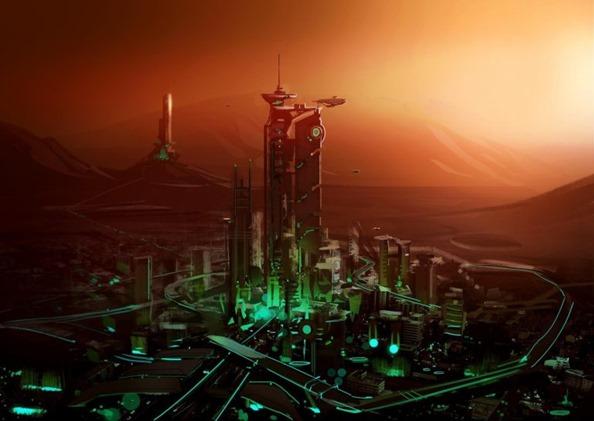 Marte é habitado por seres humanos e híbridos extraterrestres 01