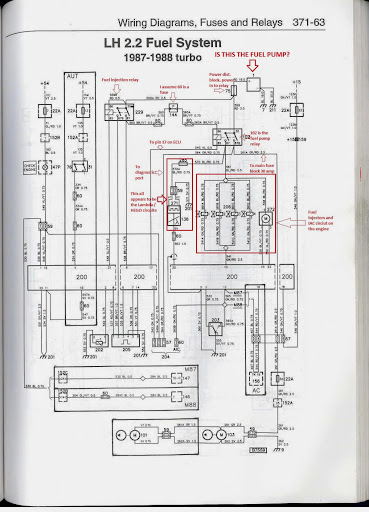 Note The Above Fuel Pump And Fuel Pump Relay Wiring Diagram Applies