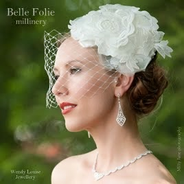 Aimee with bobby veil